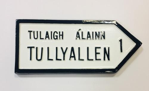Tullyallen Roadsign