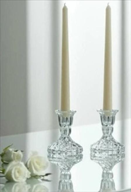 "Galway Crystal 4"" Ashford Candlestick Pair"
