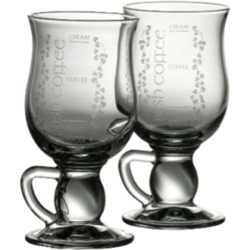 Galway Crystal Pair of Irish Coffee Glasses