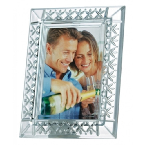 "Galway Crystal Keenan 7/5"" Frame-will stand Portrait or Landscape"