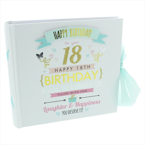 18th Birthday  Pink and Gold Album