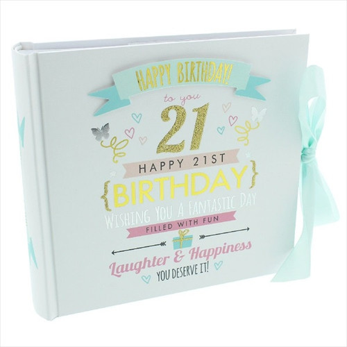 21st Birthday  Pink and Gold Album