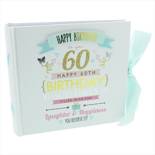60th Birthday  Pink and Gold Album