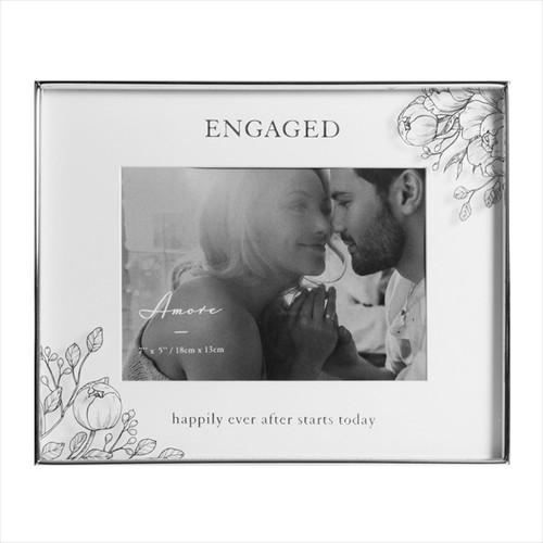 Silver Engagement Frame
