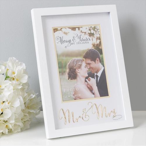 Mr & Mrs Always & Forever Frame