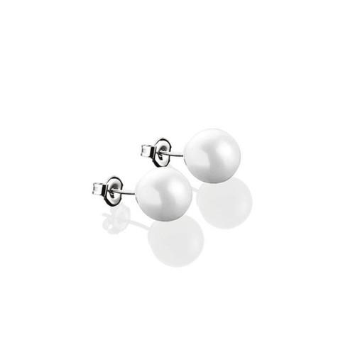Pearl Stud Earrings 8mm