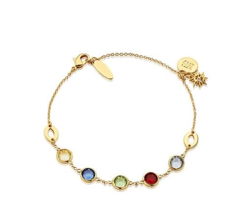 Bracelet With Multi Coloured Stones