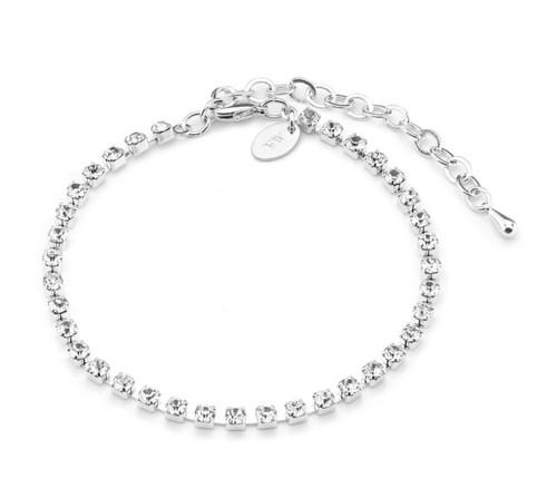 Bracelet Multi Clear Stones