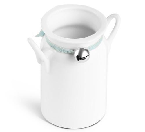 Whiteware Milk Churn 95ml