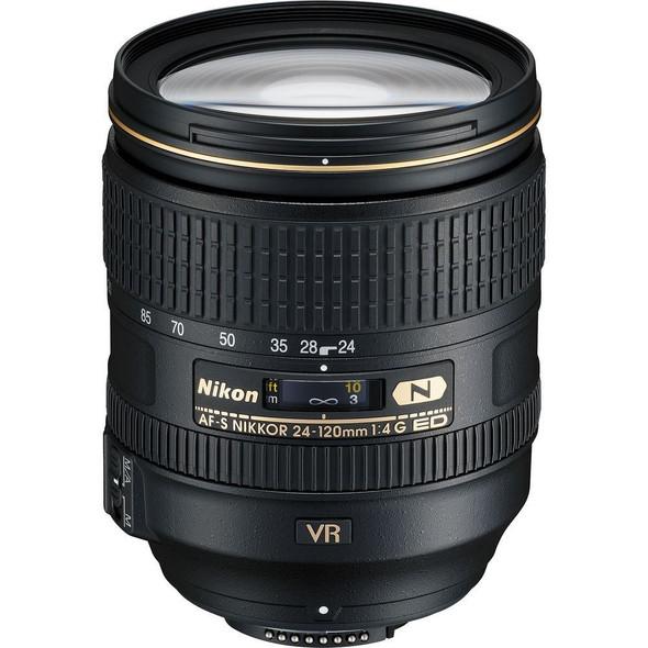 Nikon AF-S 24-120mm f4G ED VR Black