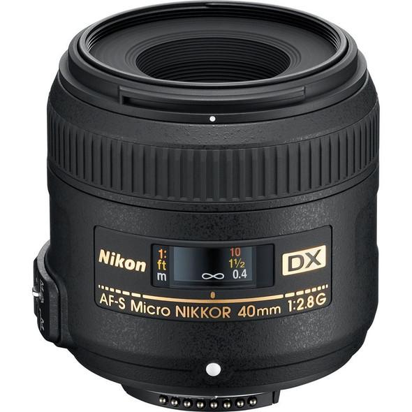 Nikon AF-S DX Micro Nikkor 40mm F/2.8G macro lens