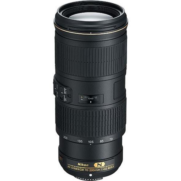 Nikon AF-S Nikkor 70-200mm f/4G ED VR Black