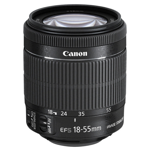Canon EF-S 18-55mm f/3.5-5.6 IS STM Lens (No Packaging)