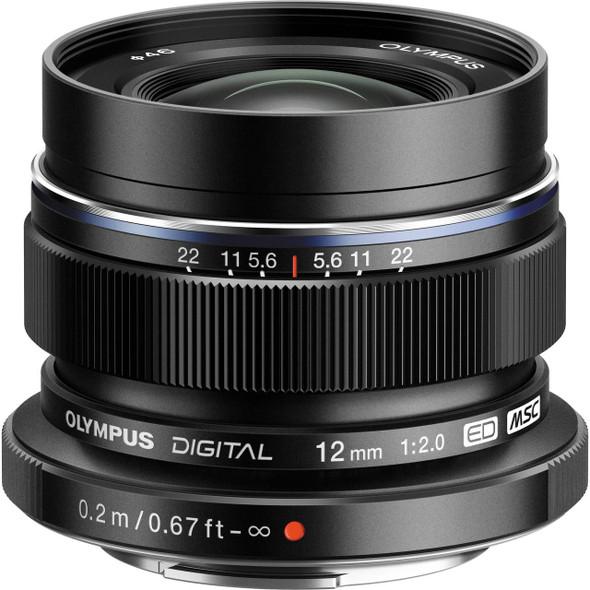 Olympus M.ZUIKO DIGITAL ED12mm F2.0 Black