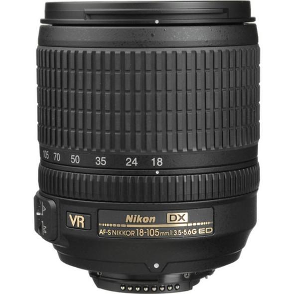 Nikon AF-S DX 18-105mm f/3.5-5.6G VR Black