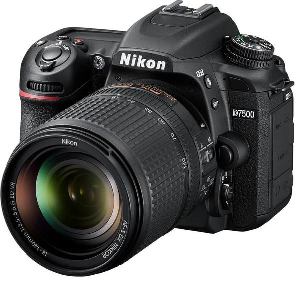 Nikon D7500 Kit with 18-140mm (Black)