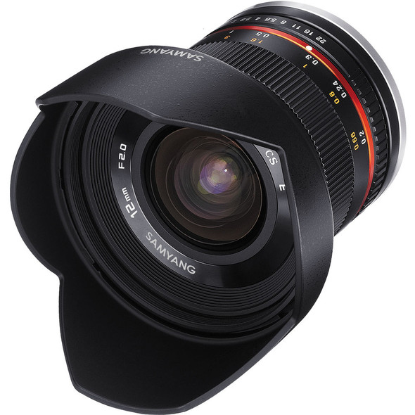 Samyang 12mm f/2 Black (Fuji X)