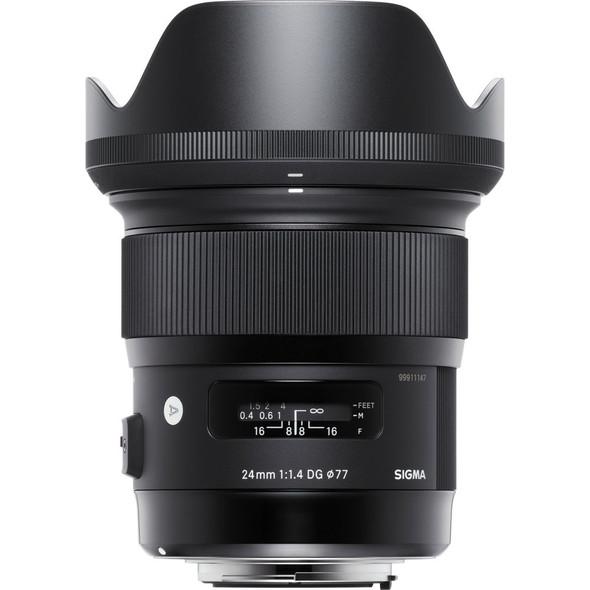 Sigma 24mm f/1.4 DC HSM Art Lens for Nikon