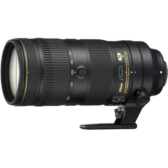 Nikon AF-S NIKKOR 70-200mm f/2.8E FL ED VR Lens Black