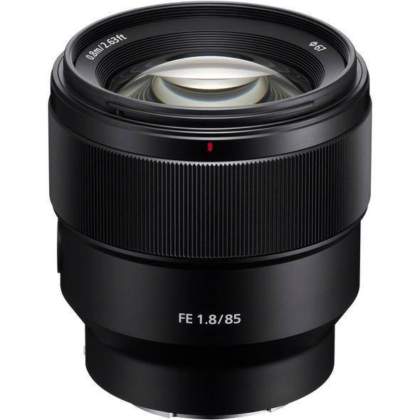 Sony FE 85mm f/1.8 Lens (SEL85F18)