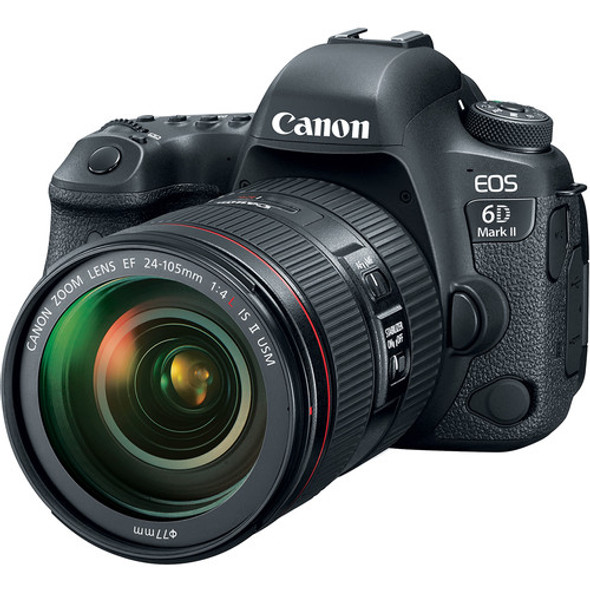Canon EOS 6D Mark II + 24-105mm f/4L IS II USM Lens