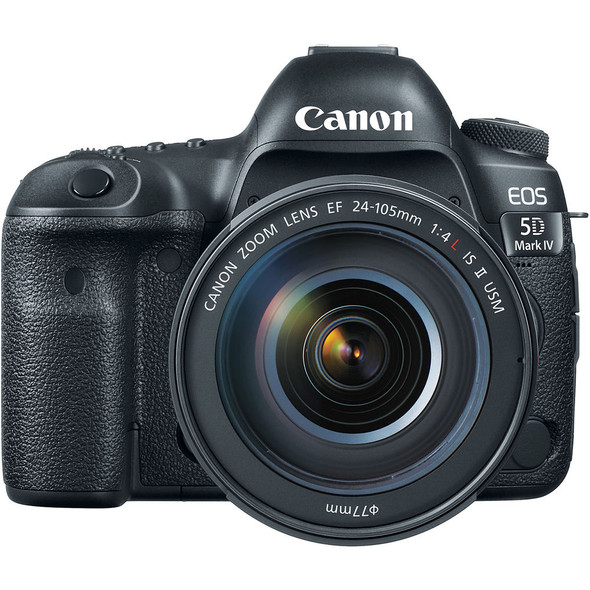 Canon EOS 5D Mark IV Kit with 24-105mm f/4L II (Multi Language)