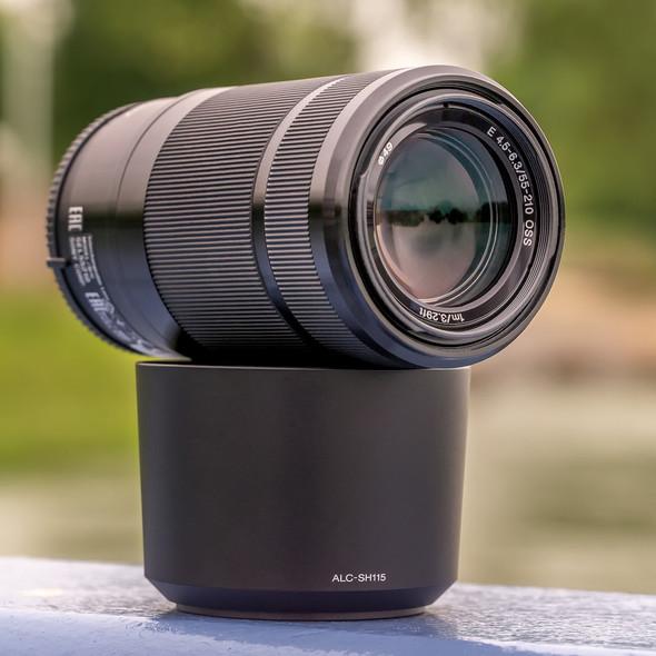 Sony SEL55210 E 55-210mm F4.5-6.3 OSS Black (Retail)