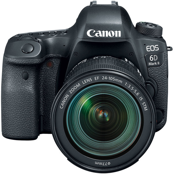 Canon EOS 6D Mark II + 24-105mm f/3.5-5.6 IS STM Lens