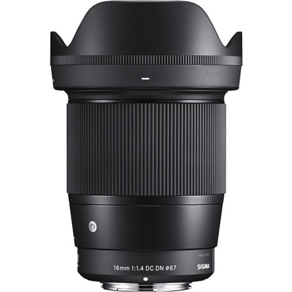 Sigma 16mm F1.4 DC DN Contemporary (Sony E)