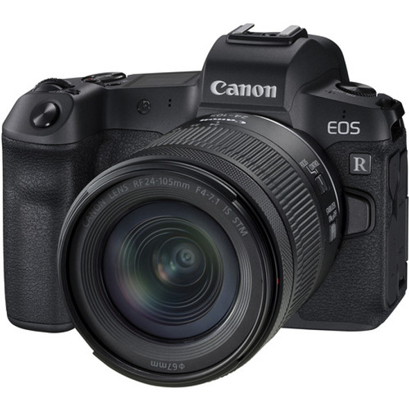 Canon EOS R with RF 24-105mm f/4-7.1 IS STM Lens