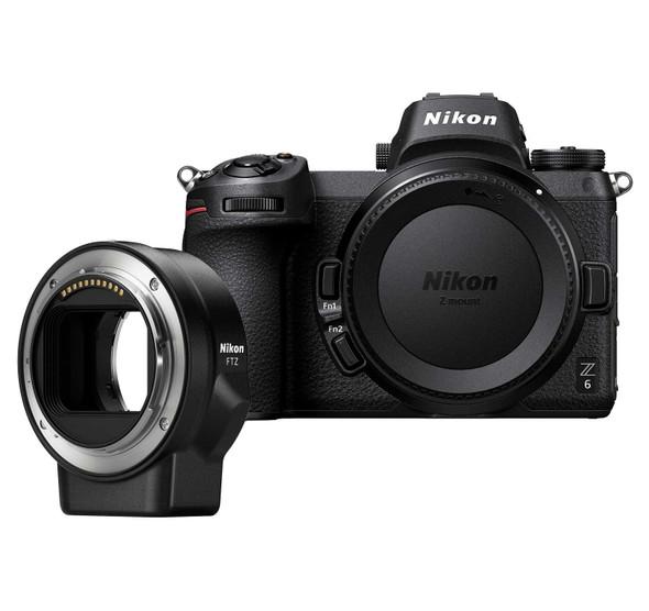 Nikon Z6 Body With FTZ Adapter Kit