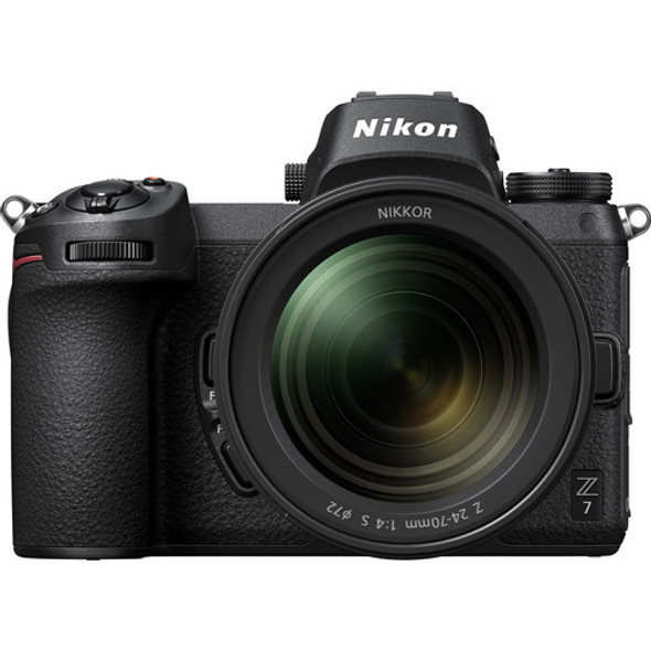Nikon Z7 and NIKKOR Z 24-70mm f/4 S Lens with FTZ Adapter