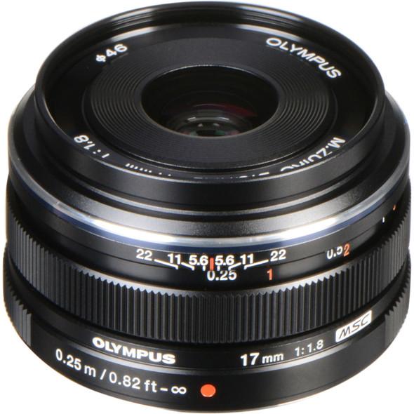 Olympus M.ZUIKO Digital 17mm f1.8 Black