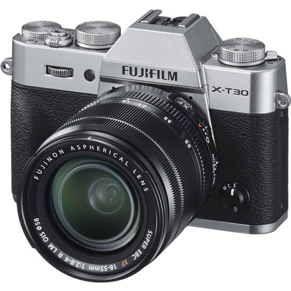 Fujifilm X-T30 Kit with 18-55mm Silver