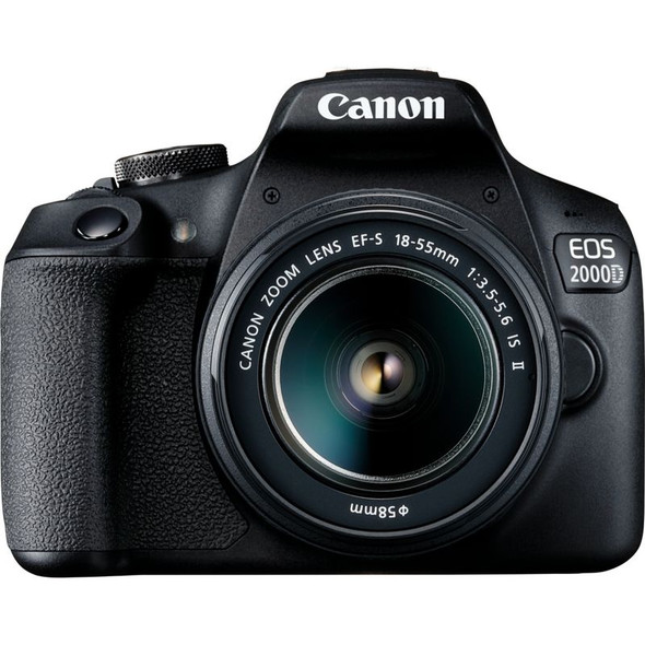 Canon EOS 2000D Kit (EF-S 18-55mm IS II) Black