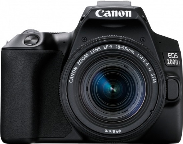 Canon EOS 200D Mark II Kit (EF-S 18-55mm IS STM) Black