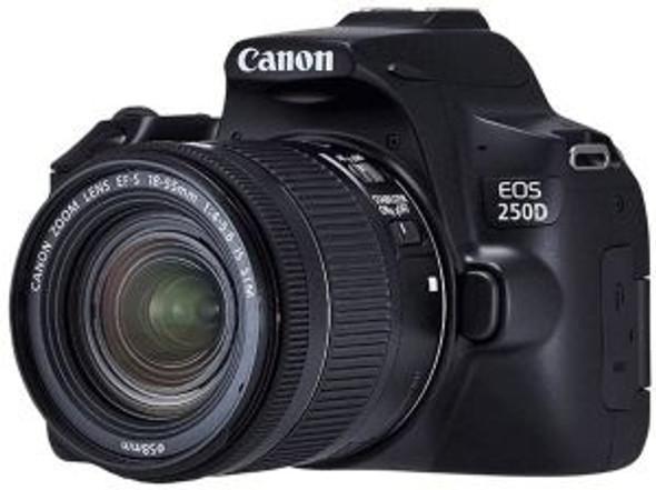 Canon EOS 250D Kit (EF-S 18-55mm STM) Black