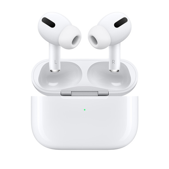 Apple AirPods Pro with Wireless Charging Case (White, MWP22)