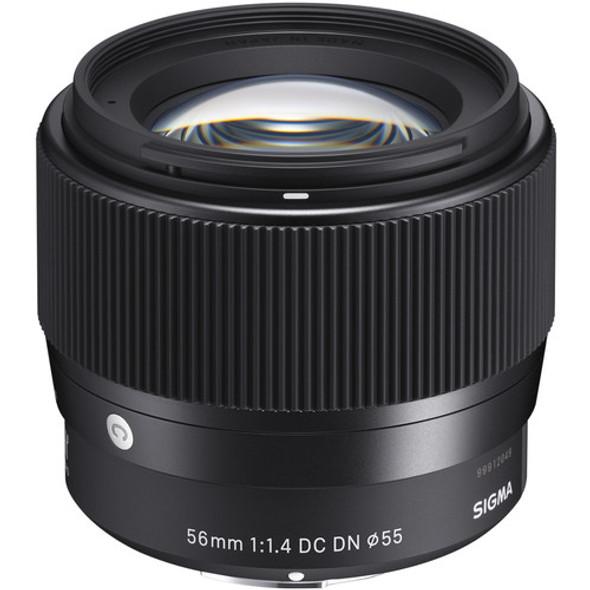 Sigma 56mm f/1.4 DC DN Contemporary Lens (Sony E)