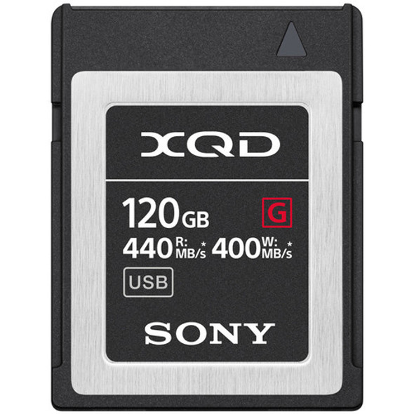Sony G Series XQD (120GB, 440R, 400W, QD-G120F)
