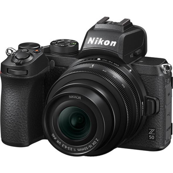 Nikon Z 50 Kit (Z DX 16-50mm F/3.5-6.3 VR) Black
