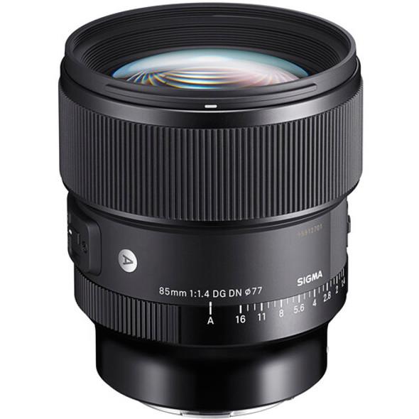Sigma 85mm f/1.4 DG DN Art Lens (Sony E)