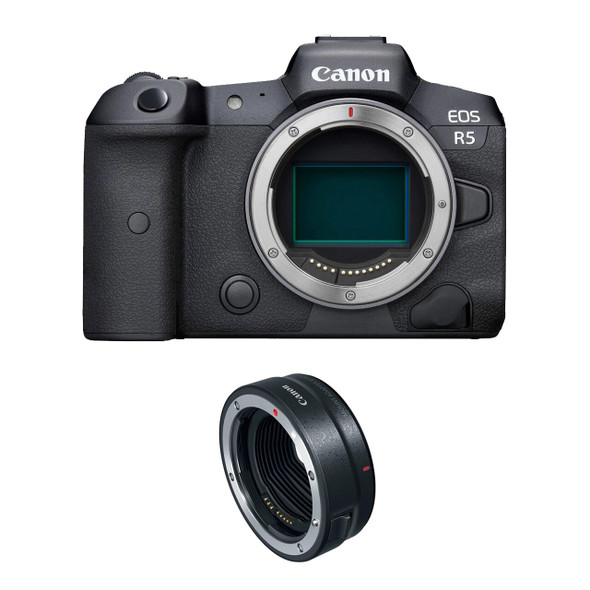 Canon EOS R5 Body Body Only with R Adapter