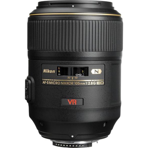 Nikon AF-S 105mm f/2.8G VR Black