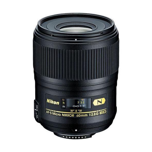 Nikon AF-S Micro Nikkor 60mm f2.8G ED Lens
