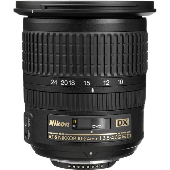 Nikon AF-S DX 10-24mm f/3.5-4.5G ED Black