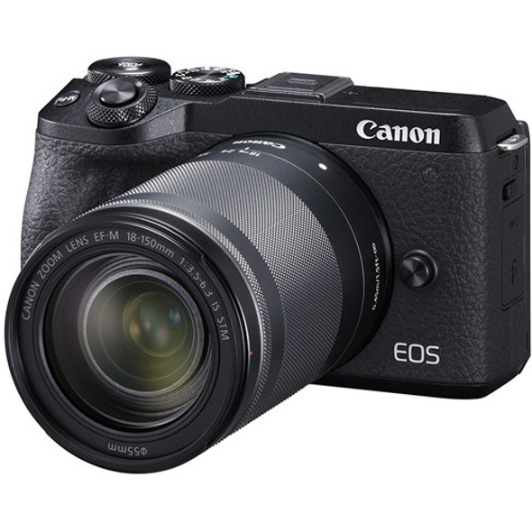 Canon EOS M6 Mark II with 18-150mm Lens (Black)