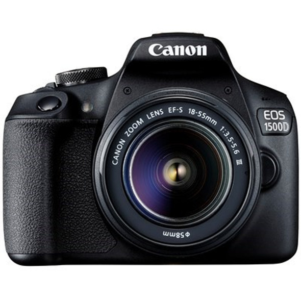 Canon EOS 1500D with 18-55mm DC III Lens (Black)