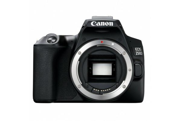 Canon EOS 250D (Body) (Black) (Kit Box)