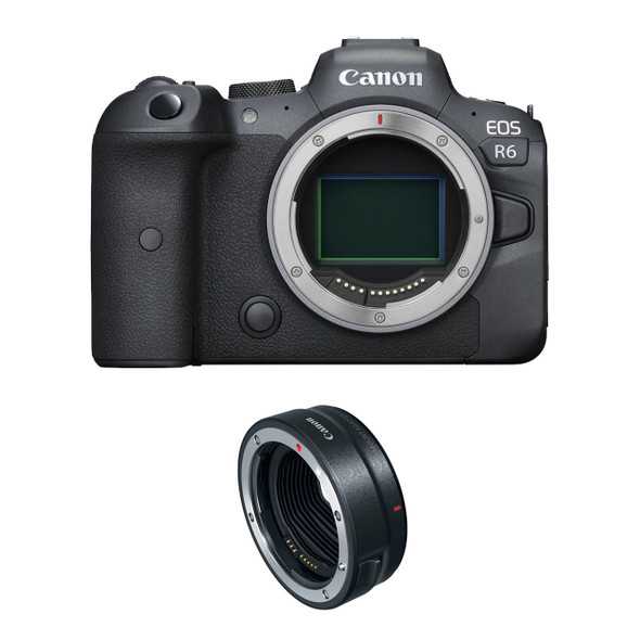 Canon EOS R6 (Body) (KB) (With R Adapter)